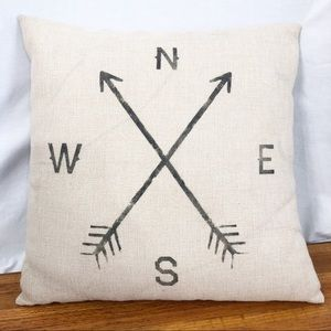 Other - Directional Accent Pillow Feather Filled